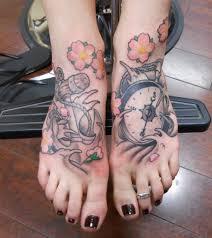 55 beautiful foot tattoo designs for girls tattoos era