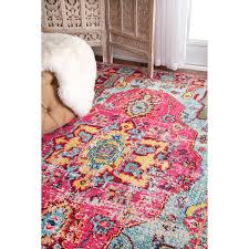 Pink Oriental Rug Amazon Com Oriental Vintage Distressed Abstract Multi Runner Area