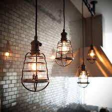 Lights In Kitchen by Stunning Caged Pendant Light 74 For Pendant Lighting In Kitchen