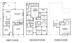 3 story townhouse floor plans amazing 9 three story townhouse floor plans 3 for sale homepeek