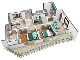 3 Bhk Home Design Layout 985 Sq Ft 2 Bhk 2t Apartment For Sale In International Land