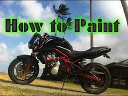 how to paint a motorcycle under 20 youtube