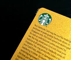 starbuck gold card coffee cards berryduchess