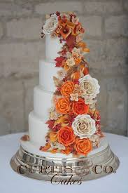 theme wedding cakes best 25 fall wedding cakes ideas on orange big