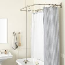 shower curtain rod corner bath best showers design corner tub shower curtain rods menzilperde