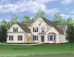 Farmhouse Elevations by The Meadowbrook Southdown Homes