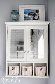 wall ideas for bathroom 26 simple bathroom wall storage ideas shelterness