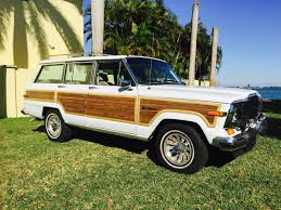 wood panel jeep classic jeep wagoneer is still a favorite among high society