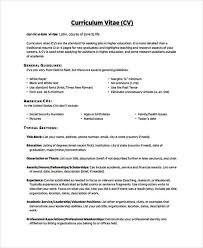 resume exles high education only disclaimer 6 education curriculum vitae templates pdf doc free