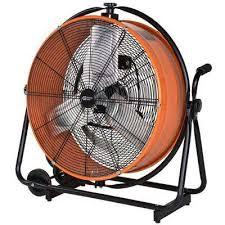 maxxair heavy duty 14 exhaust fan drum fans floor fans the home depot
