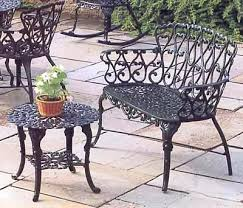 Cast Aluminum Patio Tables Cast Aluminum Patio Chair Garden Bench Cast Aluminum Patio Garden