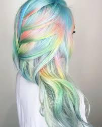 rainbow color hair ideas 28 rainbow hair colors ideas pastels rainbows and unicorns