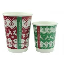 disposable cups christmas jumper green disposable cups 8oz of 500 crosbys