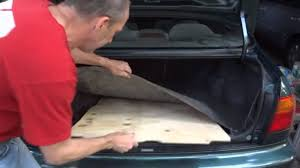 opel astra 2014 trunk how to make a new spare tire cover trunk board youtube