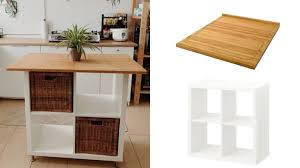 building a kitchen island with ikea cabinets diy a kitchen island for only 100 with this clever ikea