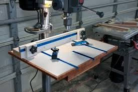 Drill Press Table Drill Press Table By Fattoad Lumberjocks Com Woodworking