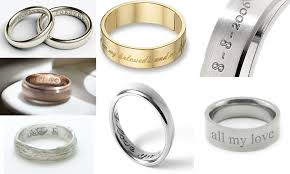 wedding rings with names how to choose wedding rings for and groom with most popular