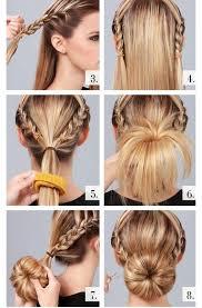 sock bun hair jose eber hair
