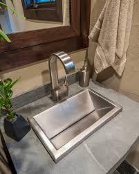 bathroom sink stainless steel lavatory sink farmhouse sink small