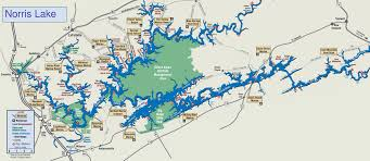 Caves In Tennessee Map by Lake Maps U2013 Norris Lake