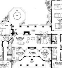 Mediterranean House Plans With Courtyard House Plans Floor Plans Home Plans Plan It At Houseplanitcom