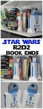 Star Wars Office Keeping It Simple Diy 2x4 Star Wars R2d2 Book Ends