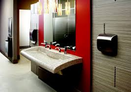 commercial bathroom design intelligent restroom design chain store age