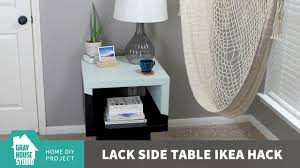 Lack Sofa Table Hack by Lack Side Table Ikea Hack Youtube
