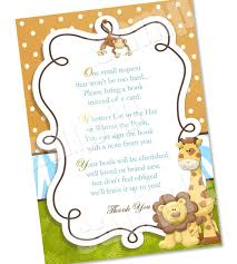 bring a book instead of a card wording ba shower card book instead criolla brithday wedding ba baby