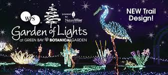 Botanical Gardens Christmas Lights by Garden Of Lights Green Bay