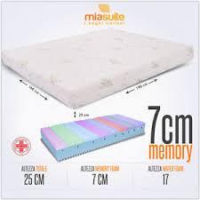 dimensioni materasso singolo materasso matrimoniale memory 160x190 memory foam 7 cm sfoderabile