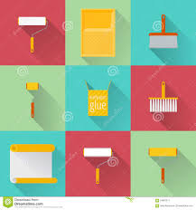 home repair flat icons stock vector image 64887671