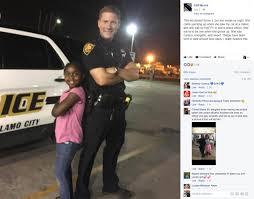 san antonio kids go viral by showing appreciation for police