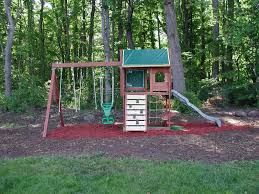big backyard springfield ii wood swing ideas including playground
