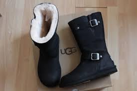 ugg australia s kensington ii free shipping free returns ugg australia kensington black leather sheepskin 5678 boots size 7