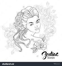 zodiac leo coloring page shutterstock 325965020