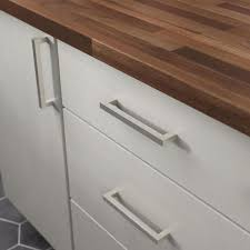 modern stainless steel kitchen cabinet pulls liberty modern square bar pull 6 5 16 in 160 mm stainless