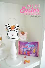 easter bunny baskets mini bunny easter baskets