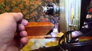 how to repair 1950 u0027s singer sewing machine tension dial youtube