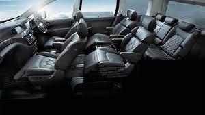 mpv car 7 seater elgrand 7 u0026 8 seater mpv nissan singapore
