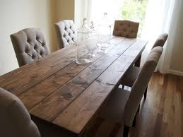 Oversized Dining Room Tables Furniture 23 Long Rustic Dining Room Table Furniture Country