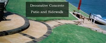 Drainage Patio Bill U0027s Custom Concrete Oklahoma City U0027s Best Concrete Contractor