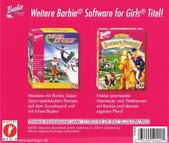 barbie sleeping beauty 1999 macintosh box cover art mobygames