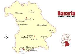 Show Me A Map Of Germany by Bavaria Map And Travel Guide