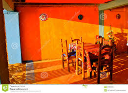 colorful mexican restaurant stock photo image 22829250