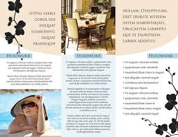 brochure template for hotel template of hotel brochure sample