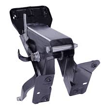 mustang brake pedal w support bracket manual brakes automatic 67 68