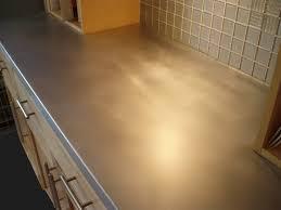 Kitchen Counter Tile Zinc Countertops Brooks Custom