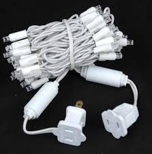 white wire lights decor