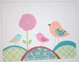 Wall Decals For Girl Nursery by Baby Nursery Wall Art Decorations For Baby Nursery Pink Bird